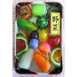 Japanese Sweet of Bento (Japanese Box Lunch) Candies
