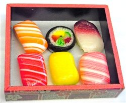 """Sushi-shaped Candy"" is a Fake Trick of Japanese Sweet"