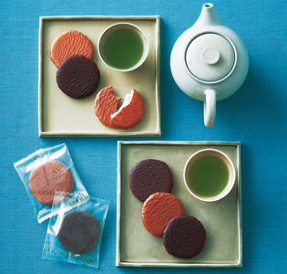 Wagashi of kyoto and fasionable chocolate in New York, Dreamlike collaboration