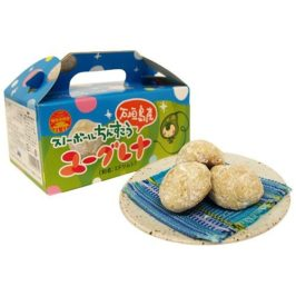 "Japanese Sweet ""Euglena Chinsuko"" (Okinawan cookie) of Ishigakijima"