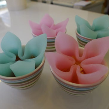 Kyoto's Wagashi of Yatuhashi combined with several different fillings