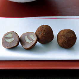 Excellent Wagashi of Getting the Most Out of Chestnuts and Walnuts