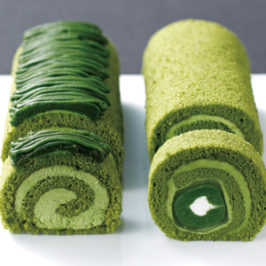 Rolls Matcha Japanese Sweets of Kyoto