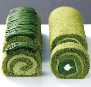 Rolls Matcha Japanese Sweets of Kyoto