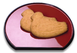 Japanese Sweet of Lovely Sable (shortbread)
