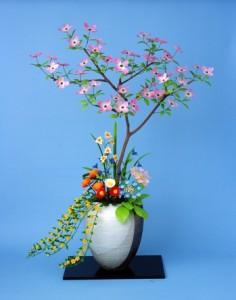糖芸菓子「京の花ごよみ」-thumb-350x444-326