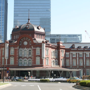 Popular Wagashi or Japanese Sweets of Tokyo Station