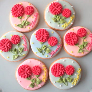 Mother's Day's Japanese Sweets of Carnation-Shaped